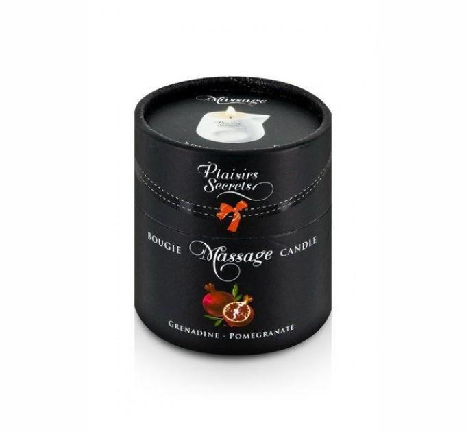 Массажная свеча Plaisirs Secrets Pomegranate 80 мл (SO1850)