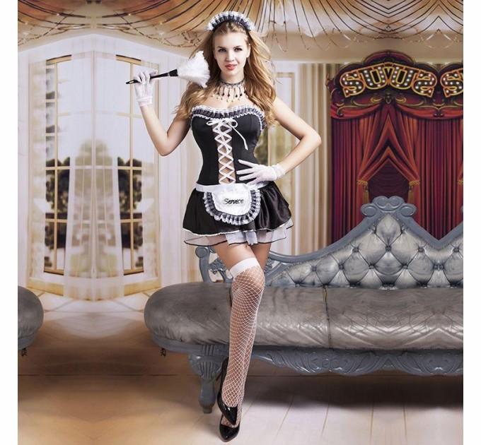 Эротический костюм горничной S/M Волшебница Элис (SO2276)