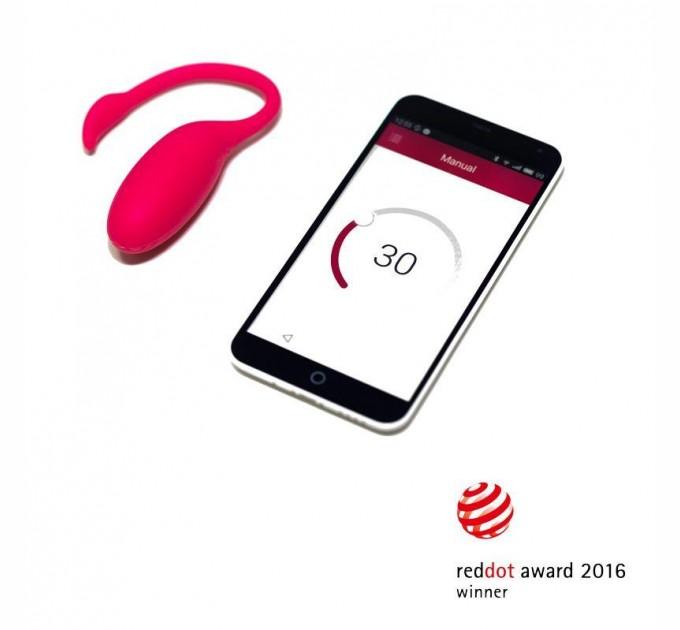 Смарт-виброяйцо Magic Motion Flamingo работает со смартфоном(SO2686)