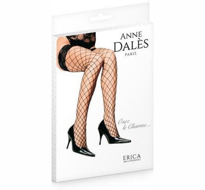 Эротические Чулки Anne De Ales Erica T2 Black (2679817)
