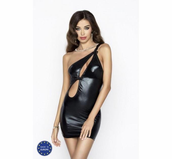 Платье и трусики Passion CORNELIA DRESS XXL/XXXL Черный (EL11303)