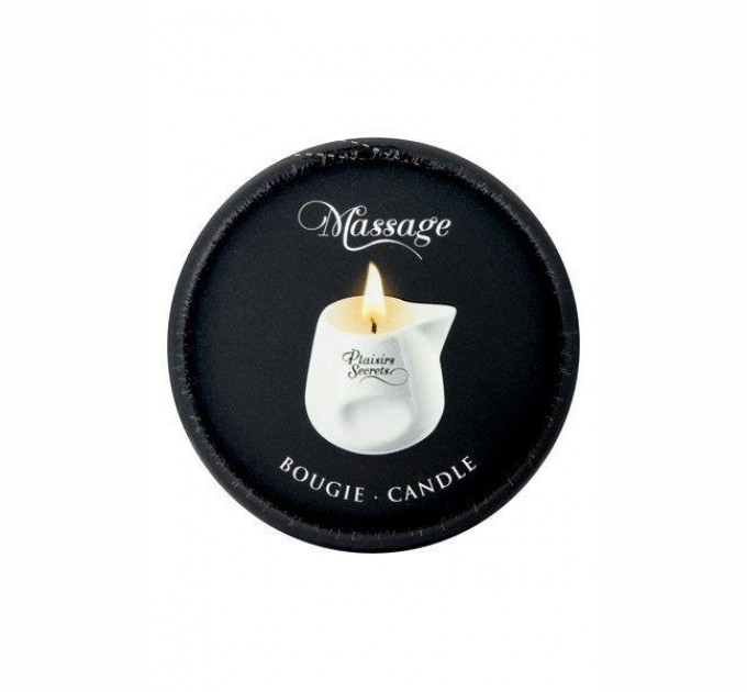 Массажная свеча Plaisirs Secrets Vanilla 80 мл (SO1844)