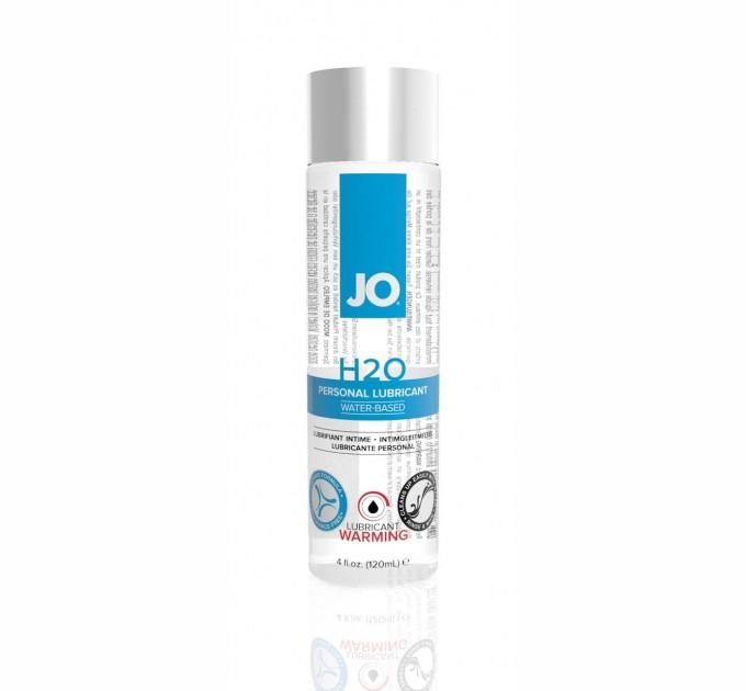 Лубрикант на водной основе System JO H2O WARMING 120 мл (SO1679)