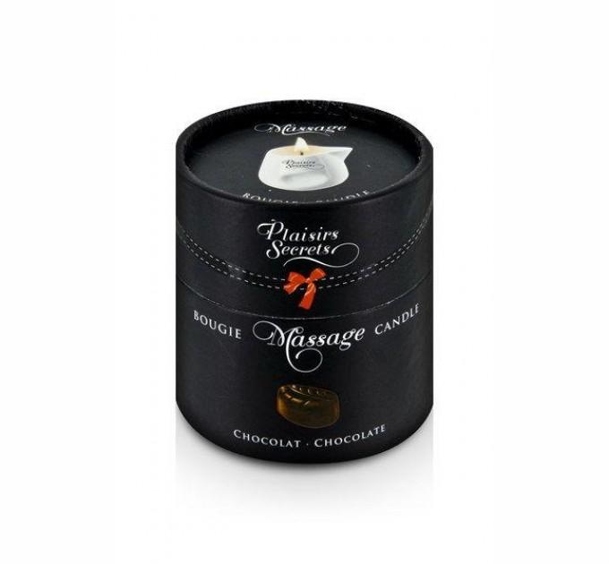 Массажная свеча Plaisirs Secrets Chocolate 80 мл (SO1845)