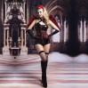 Эротический костюм темного ангела S/M Зажигательная Аманда (SO2268)