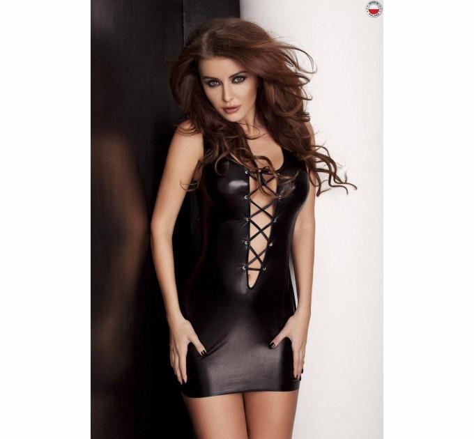 Платье и трусики Passion LIZZY DRESS S/M Черный (PS21102)