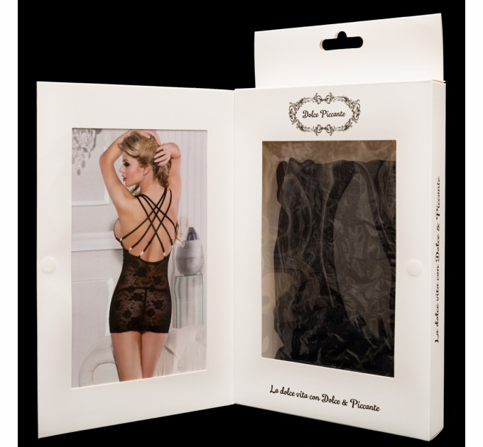 Платье Dolce Piccante Lingerie Черное