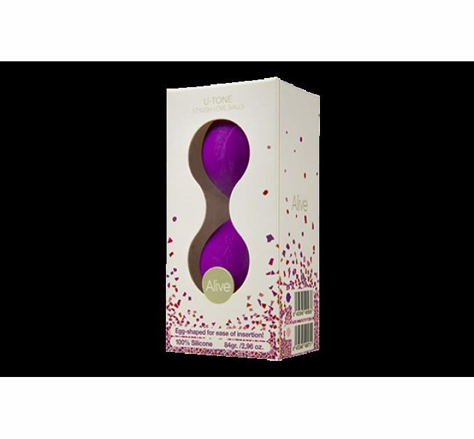 Вагинальные шарики Alive U-Tone Balls Purple (AL40563)