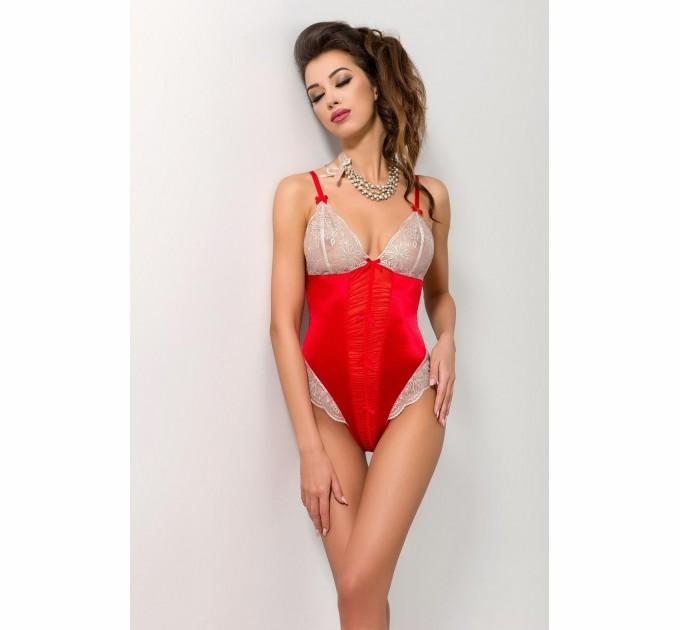 Женское боди LORAINE BODY S/M Красный (PS22802)