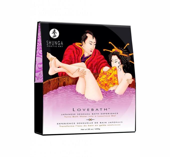 Гель для ванны Shunga LOVEBATH Sensual Lotus 650 гр (SO2545)