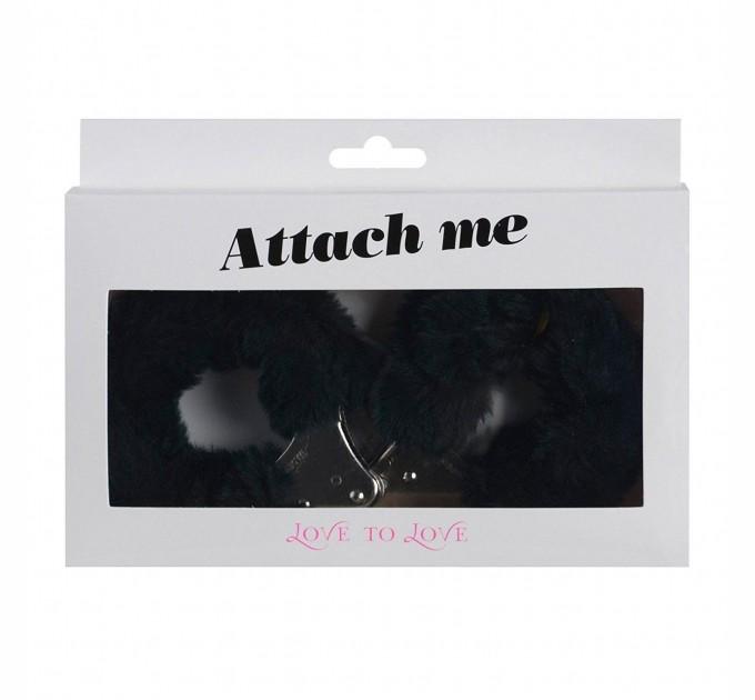 Наручники Love To Love ATTACH ME Black (SO1402)