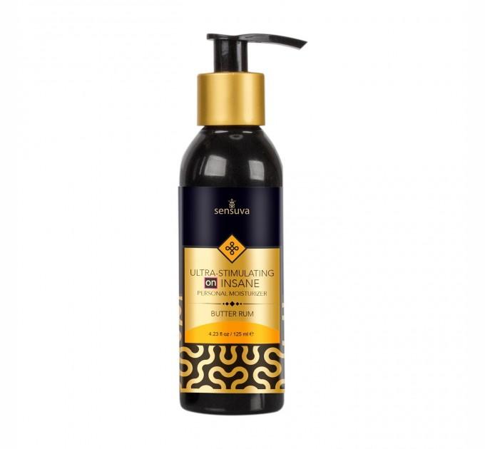 Возбуждающая смазка на гибридной основе Sensuva - Ultra-Stimulating On Insane Butter Rum (125 мл) (SO3542R)
