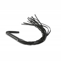 Длинная плеть Пикантные Штучки с множеством хвостов Черный