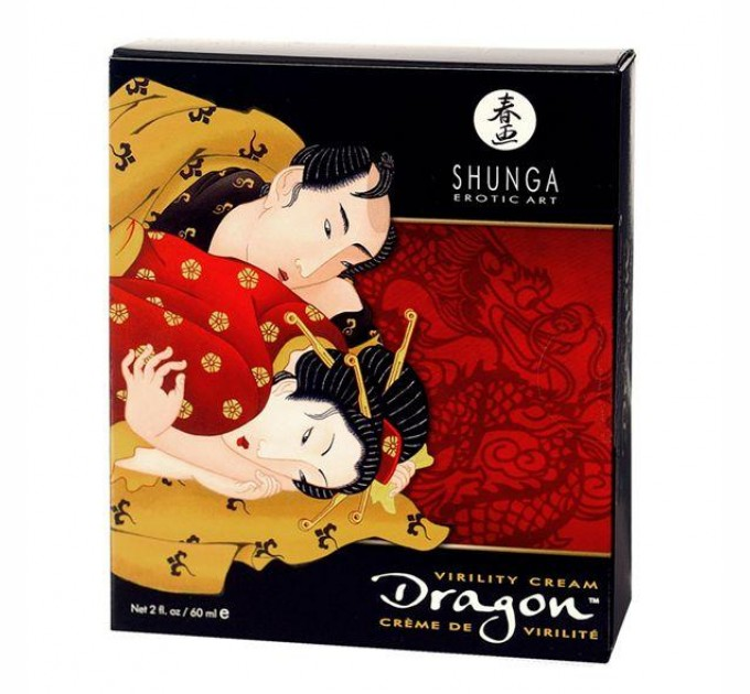 Стимулирующий крем для пар Shunga SHUNGA Dragon Cream 60 мл (SO2523)
