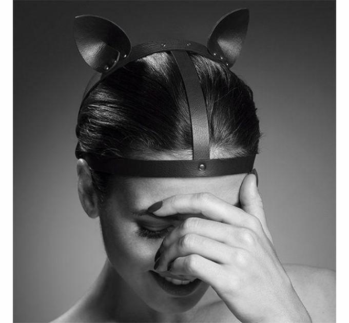 Кошачьи ушки Bijoux Indiscrets MAZE Cat Ears Headpiece Black (SO2684)