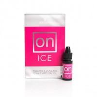 Возбуждающее масло Sensuva - ON Arousal Oil for Her Ice с охлаждающим эффектом 5 мл (SO3167)