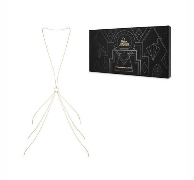 Украшение для тела Bijoux Indiscrets Magnifique 8 Body Chain Gold (SO2654)