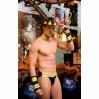 Мужской эротический костюм пожарного S/M Пылающий Стивен (SO2272)