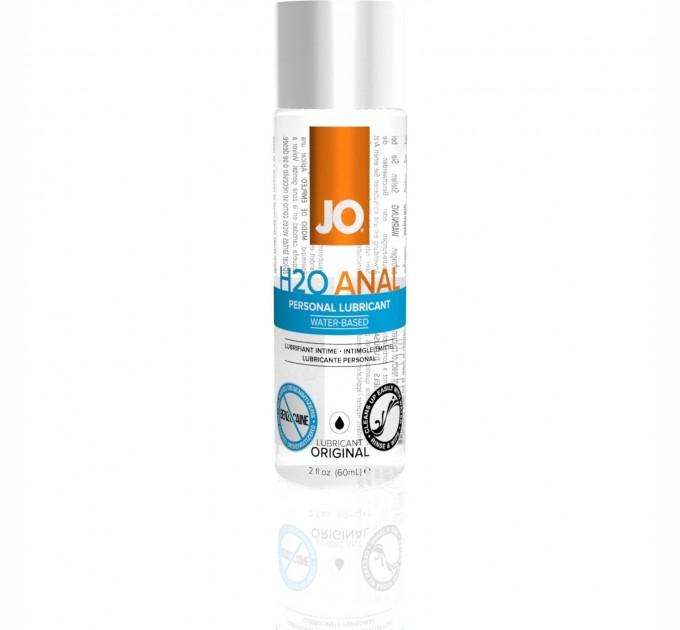Анальная Смазка System Jo Anal H2O-Original 60мл
