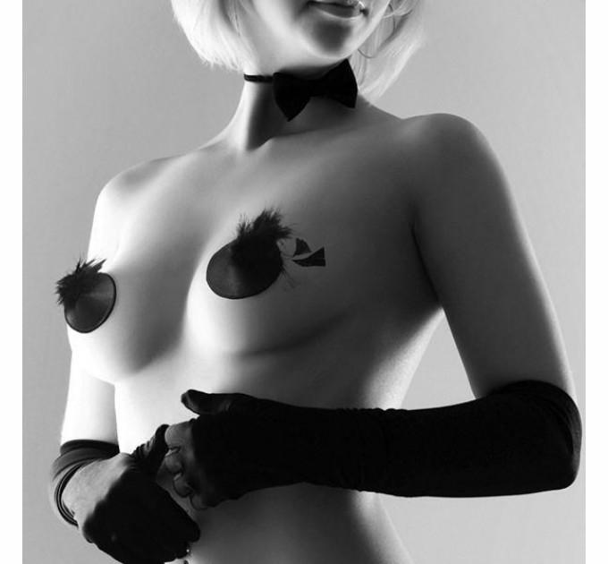Пэстис Bijoux Indiscrets Burlesque pasties FEATHER (SO2669)