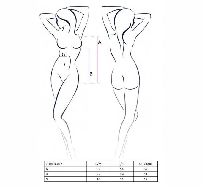 Женское боди ZOJA BODY S/M Черный (PS21802)
