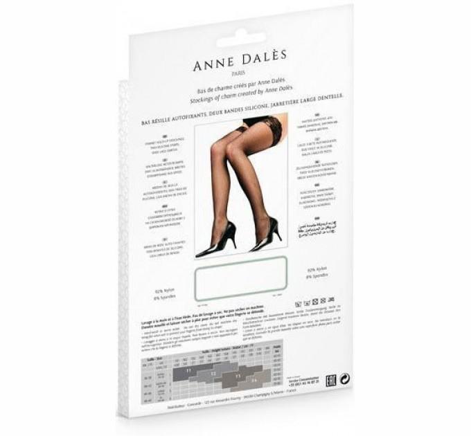 Эротические Чулки Anne De Ales Camilla T3 Black (2679822)