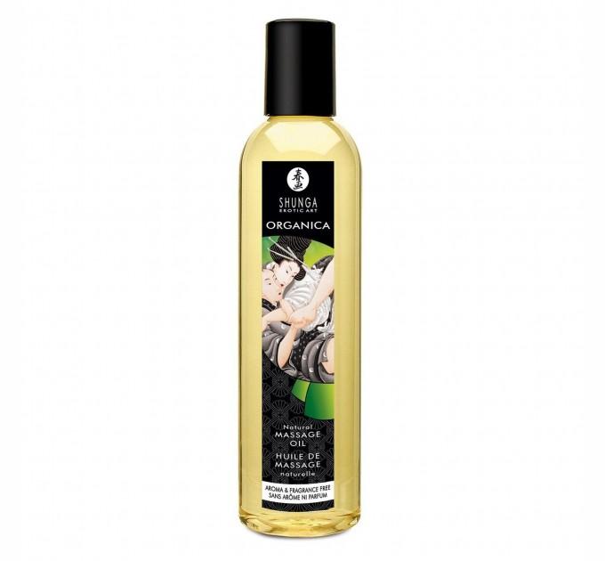 Органическое массажное масло Shunga ORGANICA - Natural 250 мл (SO2882)