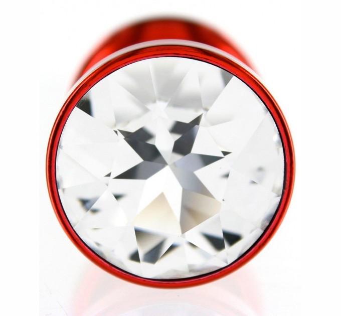 Анальная Пробка Diogol Anni Round Red 30мм D10452 Красный