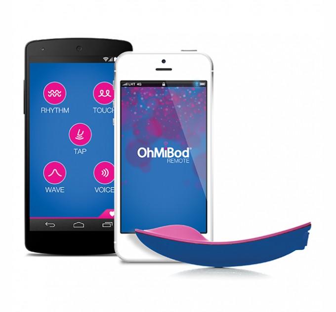 Клиторальный вибратор OhMiBod blue Motion App Controlled Nex 1