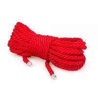 Веревка для бондажа Slash Premium Silky 10M Red