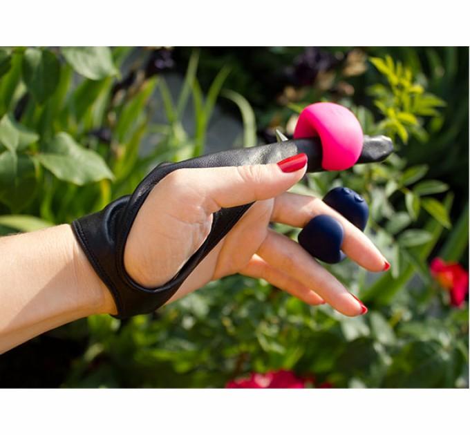 Мини-вибратор Gvibe на палец Gring Розовый