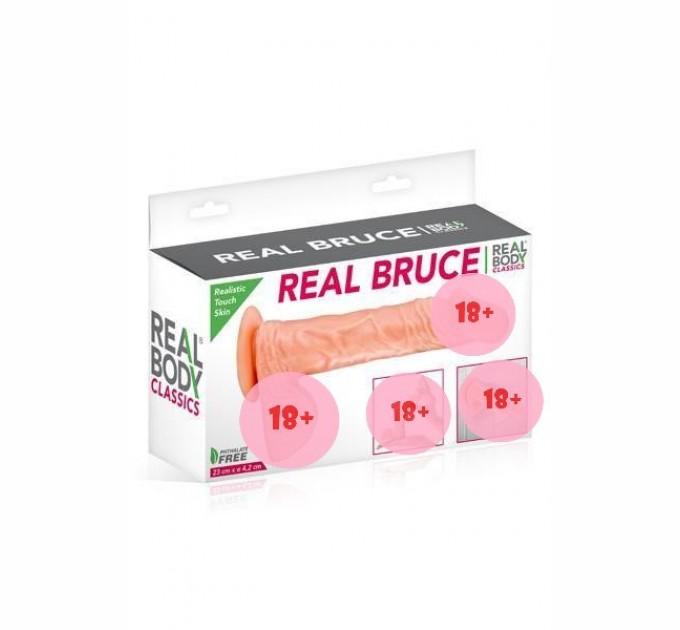 Фаллоимитатор Real Body - Real Bruce (SO1895)