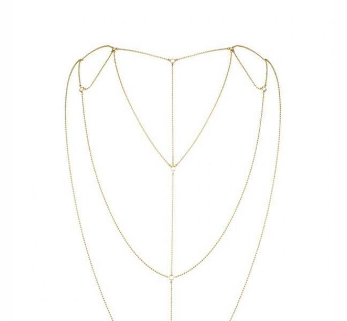 Украшение для спины и декольте Bijoux Indiscrets Magnifique Back and Cleavage Chain (SO2657)