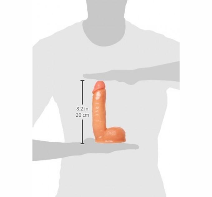 Фаллоимитатор Sexflesh с имитацией семяизвержения Veiny Victor Ejaculating Squirt Cock