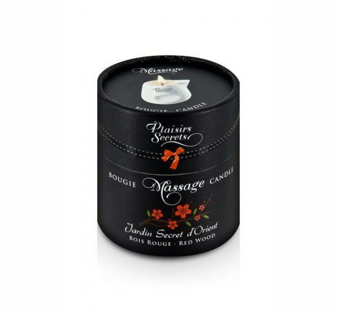 Массажная свеча Plaisirs Secrets Red Wood 80 мл (SO1859)