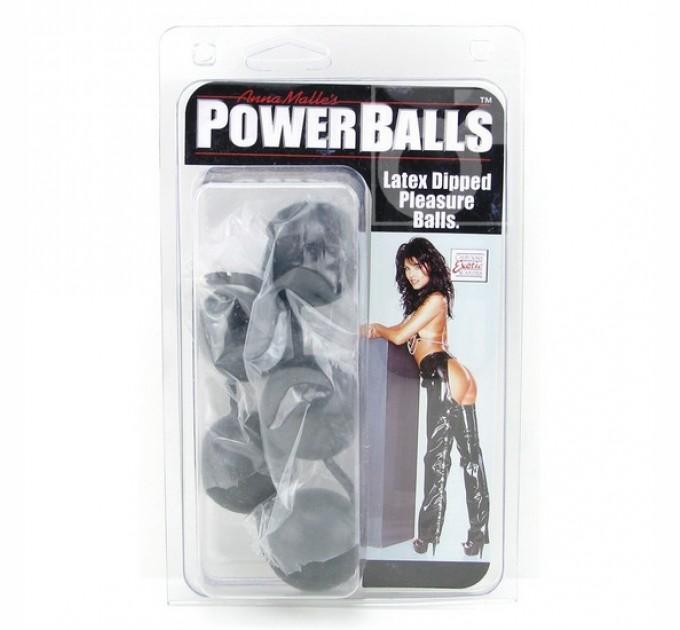 Шарики California Exotic Novelties анально-вагинальные Power Balls 3.5 см