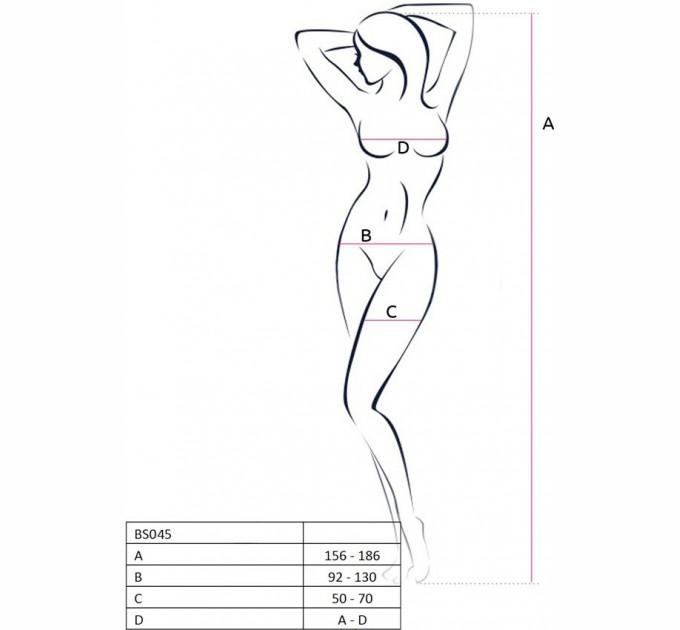 Бодистокинг Passion Bs045 White (2466627)