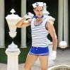 Мужской эротический костюм морячка S/M Изголодавшийся Робин (SO2288)