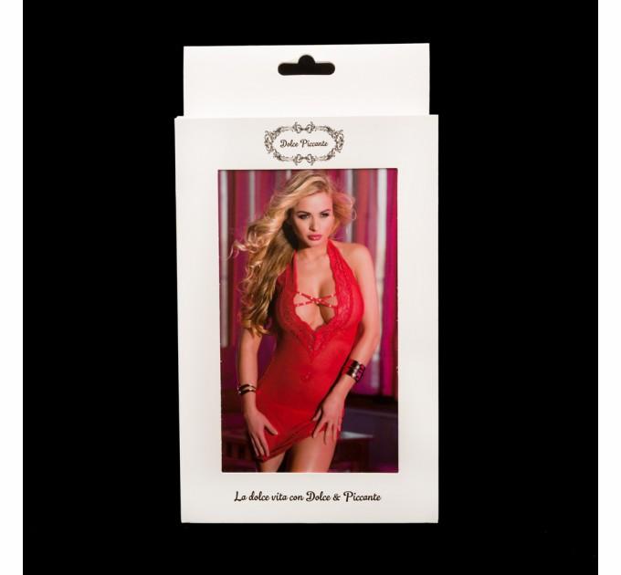 Мини платье Dolce Piccante Lingerie красное