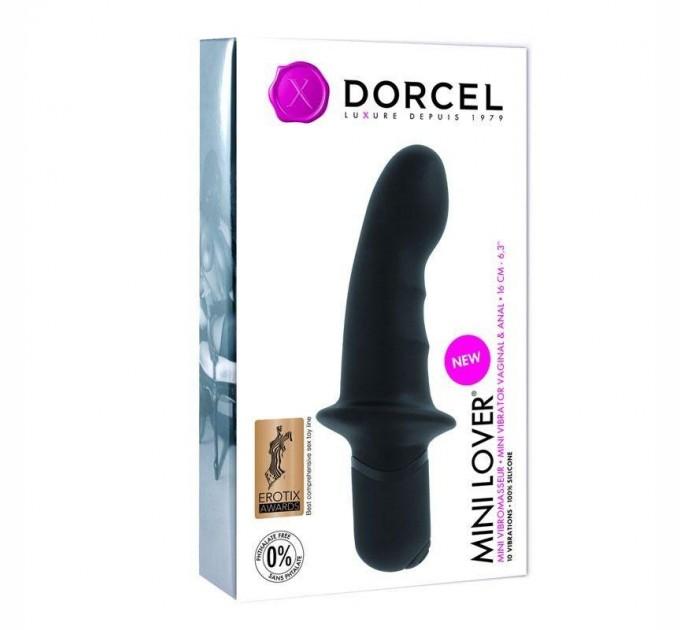 Вибратор Dorcel Mini Lover Black (MD1045)