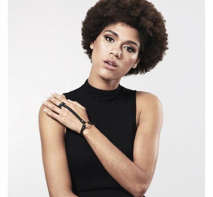 Браслет Bijoux Indiscrets MAZE Hand Bracelet Harness Black (SO2679)