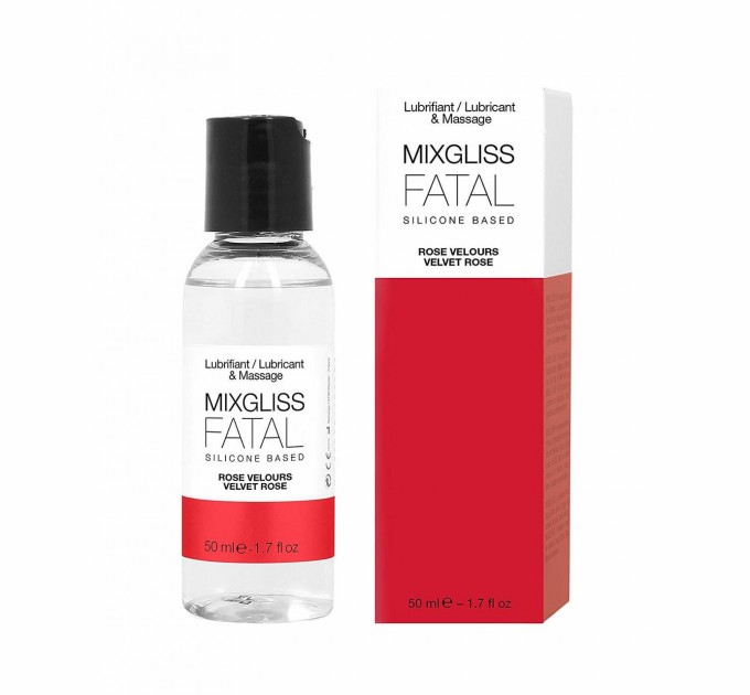 Лубрикант на силиконовой основе MixGliss FATAL VALVET ROSE 50 мл (SO2703)