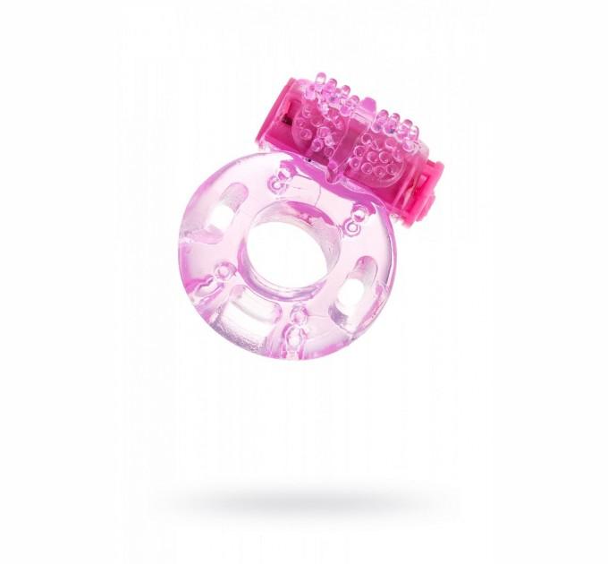 Эрекционное виброкольцо SUNROZ Butterfly Ring на пенис Розовый