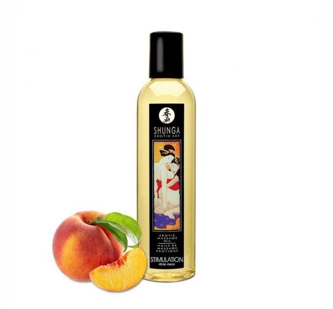 Массажное масло Shunga Stimulation - Peach 250 мл (SO2873)