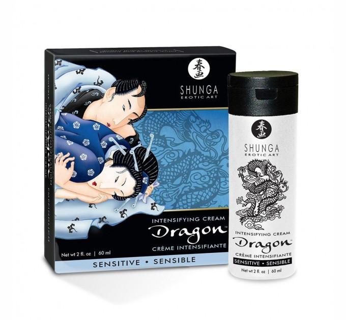 Стимулирующий крем для пар Shunga SHUNGA Dragon Cream SENSITIVE 60 мл (SO2524)