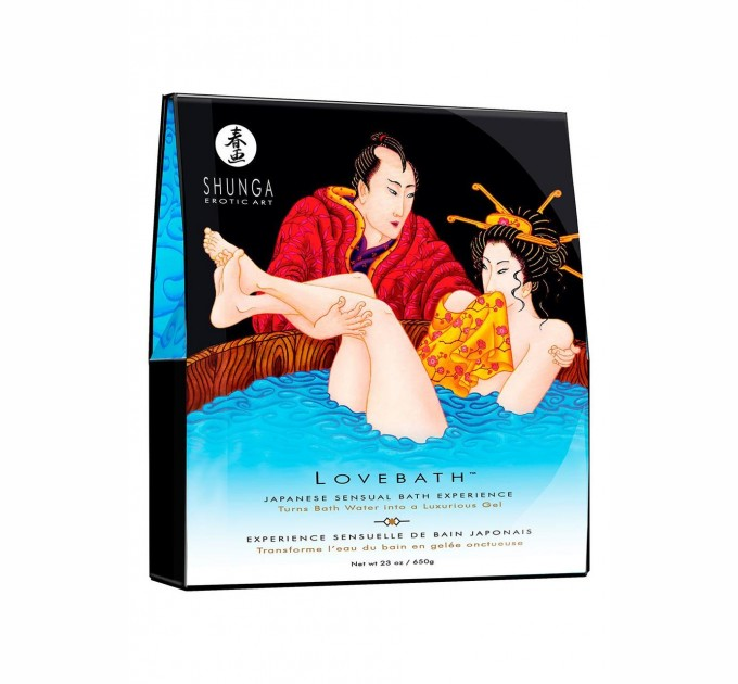 Гель для ванны Shunga LOVEBATH Ocean temptations 650 гр (SO2543)