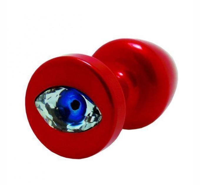 Анальная пробка со стразом Diogol Anni R Eye Кристалл 30 мм Red