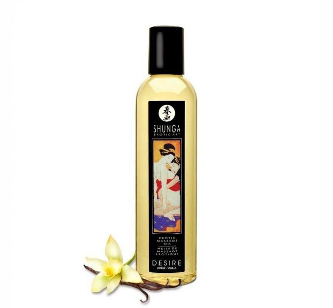 Массажное масло Shunga Desire - Vanilla 250 мл (SO2870)