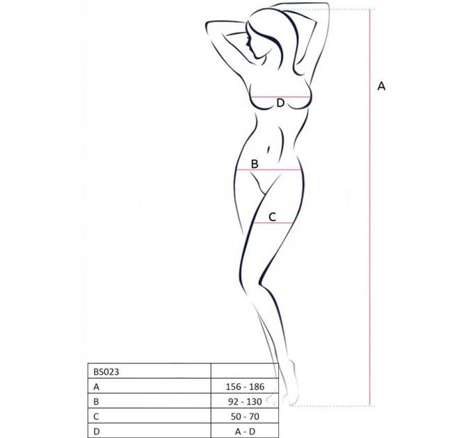 Бодистокинг Passion Bs023 White (2466581)