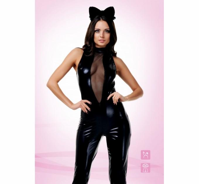 Эротический костюм TouchMe_BR Чёрная кошка S/M
